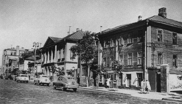 Улица Красная Пресня. 1959г.