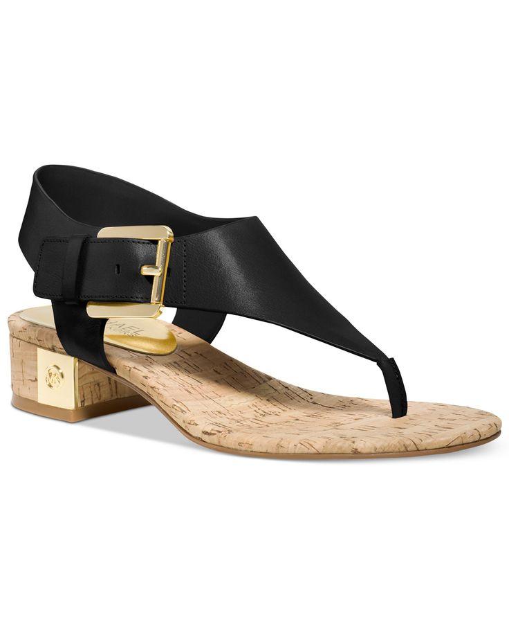 MICHAEL Michael Kors London Thong Sandals - MICHAEL Michael Kors - Shoes -  Macy's