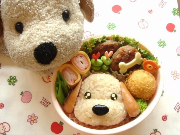 Fun food Rice Dog Hund Reis Bento cute niedlich animals tiere sausage würstchen bockwürstchen unterwegs to-go