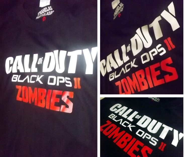 Call of Duty Zombies  / tshirt / remera / franela