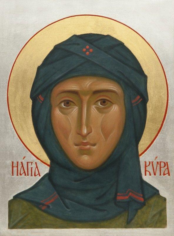 Икона святой преподобной Киры