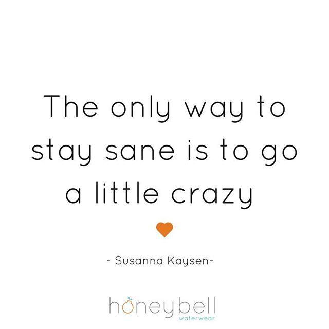 I'm often called crazy... it's my secret sauce to my sanity xo 😜