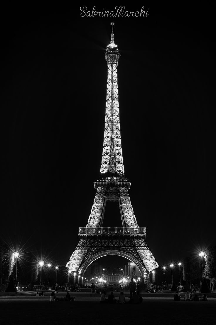 View of the Eiffel tower, Paris.