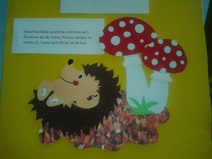 dekorace- ježek