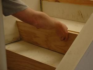 How to Install Hardwood Stairs | how-tos | DIY