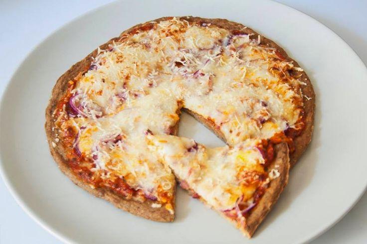 """Tonhal alapú """"szénhidrátmentes"""" pizza szelet ~ Éhezésmentes Karcsúság Szafival"""