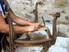 les 25 meilleures id es concernant recouvrir un fauteuil. Black Bedroom Furniture Sets. Home Design Ideas