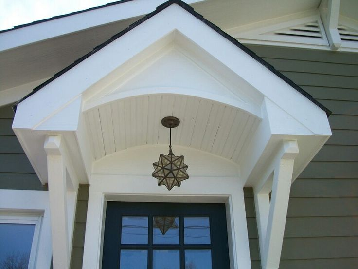 Sixty Fifth Avenue  Craftsman style cottage Portico  Front Door Lighting  102 best Entry Roof images on Pinterest   Front entry  Front doors  . Exterior Door Roof Overhang. Home Design Ideas