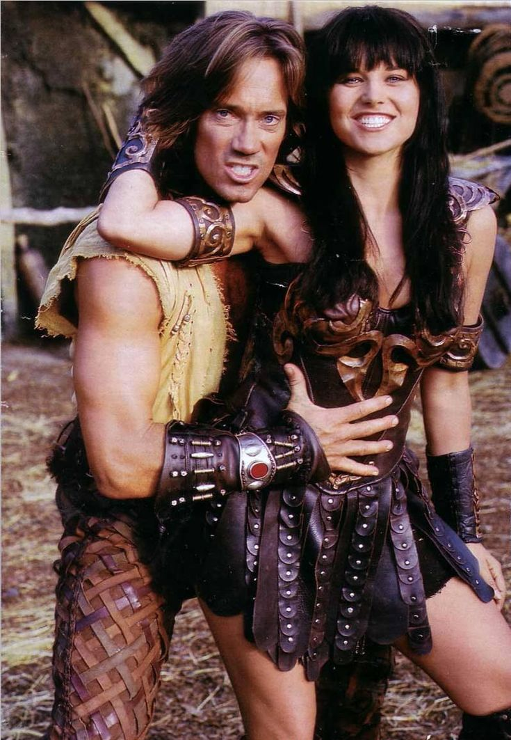 Xena & Hercules: fun on set