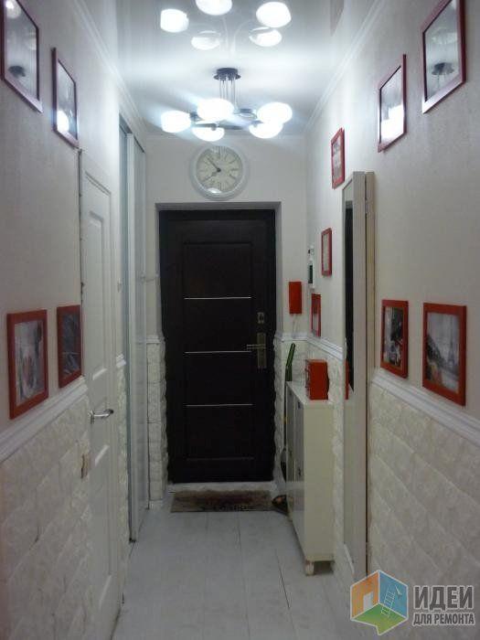 Отделка прихожей, белый коридор аксессуары