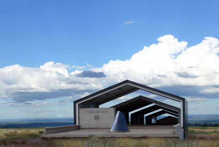 Image 1 of 25 from gallery of Casa Uco Winery  / Alberto Tonconogy y asociados. Courtesy of Alberto Tonconogy y Asociados