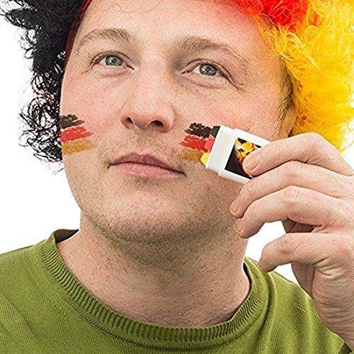 Fan Schminkstift Deutschland Fahne f�r EM und WM