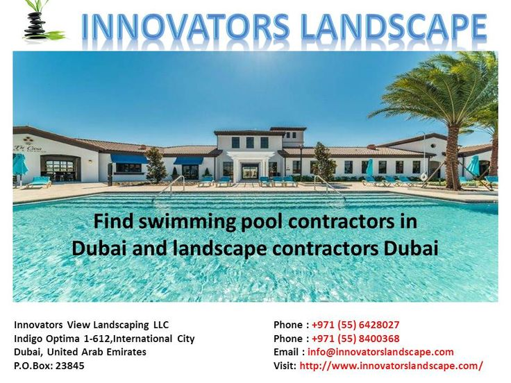 Find Best Swimming Pool Contractors In Dubai To Reconstruct Indoor Outdoor Landscape With High