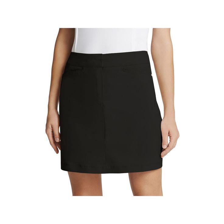 Women's Tail Classic Golf Skort, Size: 12, Black