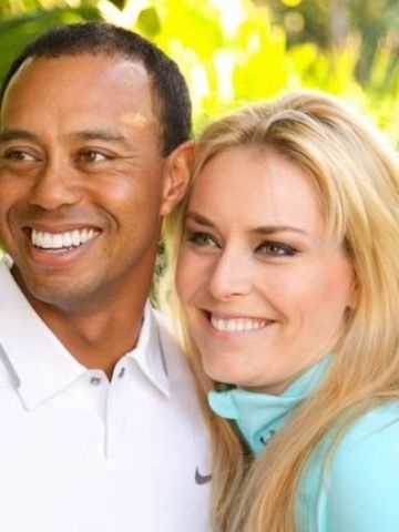 Tiger Woods announces his relationship with Lindsey Vonn