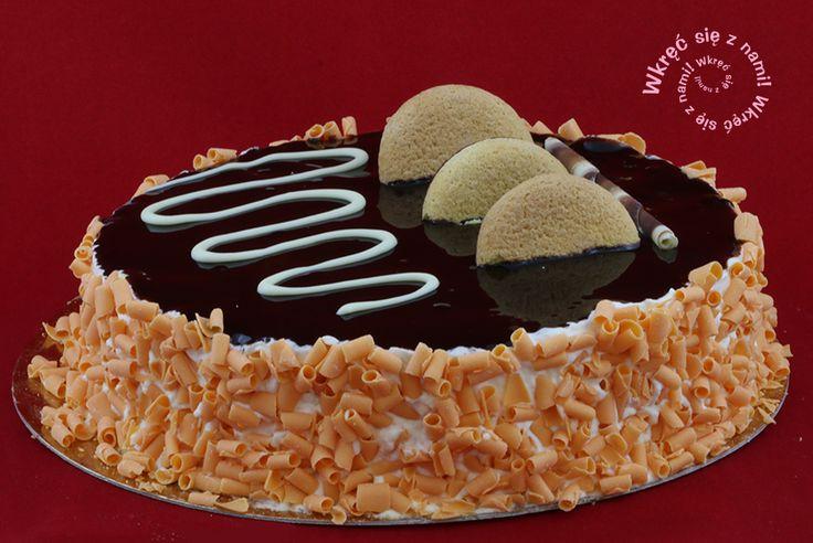 Torcik Delicja to ciasto na bazie ekologicznej śmietanki ze skórką pomarańczy i czekoladą Magnum. #Ciasta #TorcikDelicja #Delicja #CafeGóraLodowa, #GóraLodowa, #Ustka, #Słupsk