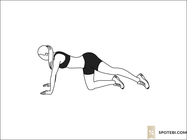 Back leg lifts exercise guide with instructions, demonstration, calories burned and muscles worked. Learn proper form, discover all health benefits and choose a workout. http://www.spotebi.com/exercise-guide/back-leg-lifts/
