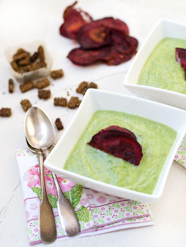 ... broccoli spinach soup broccoli spinach soup with avocado toasts