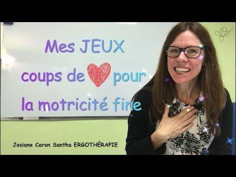 Courte vidéo d'introduction de la chaîne Josiane Caron Santha ERGOTHÉRAPIE. Découvrir l'ERGOTHÉRAPIE...autrement! Bienvenue!