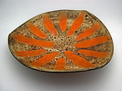 Stripper Dish (1960) by Chalvignac Art Pottery - Maurice Chalvignac