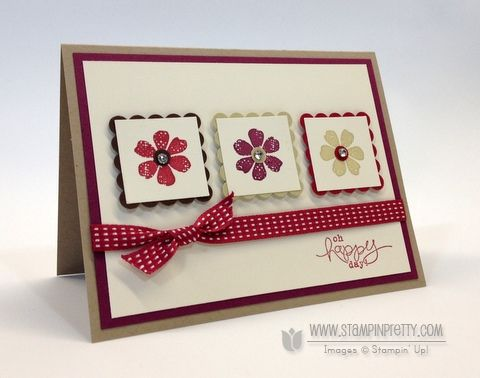 bloomin' marvelous - stampin' up!