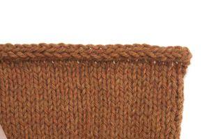 Rabattage des mailles avec une finition cordelette - L'échappée laine