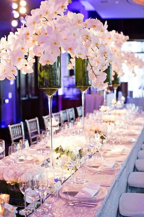17 best images about wedding centrepieces on pinterest for Wedding reception centrepieces