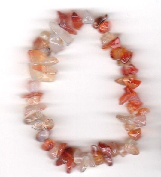 Splitter-Armband aus Karneol - Natursteine