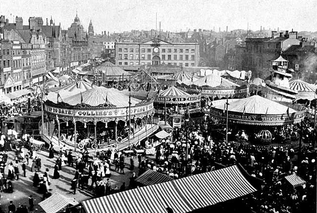 Goose Fair 1908, Nottingham UK