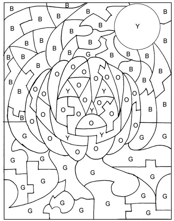 halloween coloring pages preschool - photo#23