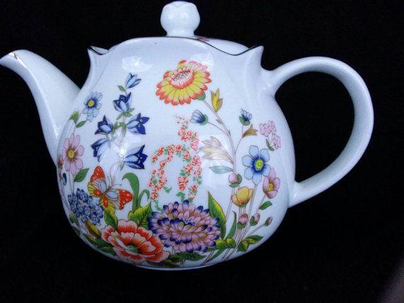 1988 Robinson Porcelain Tea Pot Original Package by ThriftALot