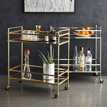Terrace Nightstand - Antique Brass | West Elm