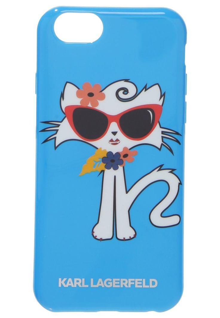KARL LAGERFELD CHOUPETTE SURF Etui na telefon blue