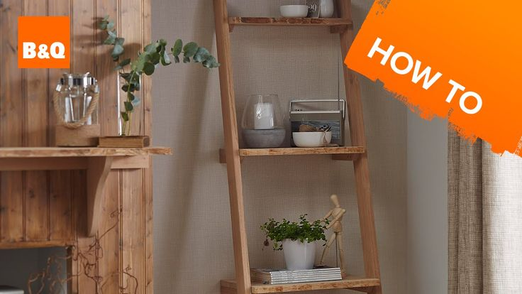 how to build a simple wooden shelving unit