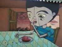 Eating Graffiti