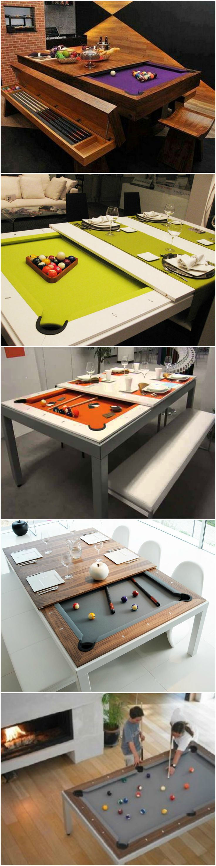 The Fusion table creates a relaxed atmosphere for dinner with family or friends. Able to seat 10 people comfortably, the Fusion table is perfect for family or professional meetings. After the meal, it takes less than a minute to turn the Fusion table into a top-of-the-range billiard table.