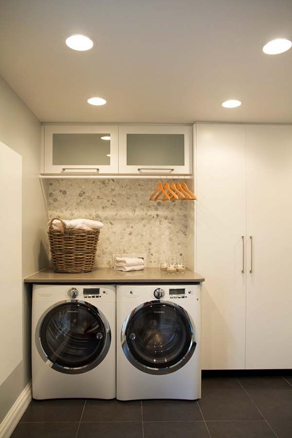 Small Laundry Room Design Ideas-23-1 Kindesign