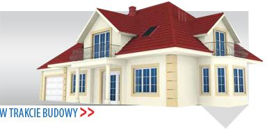 Wizualizacja domu z fasadą oraz systemem ociepleń budynku od firmy Astex.