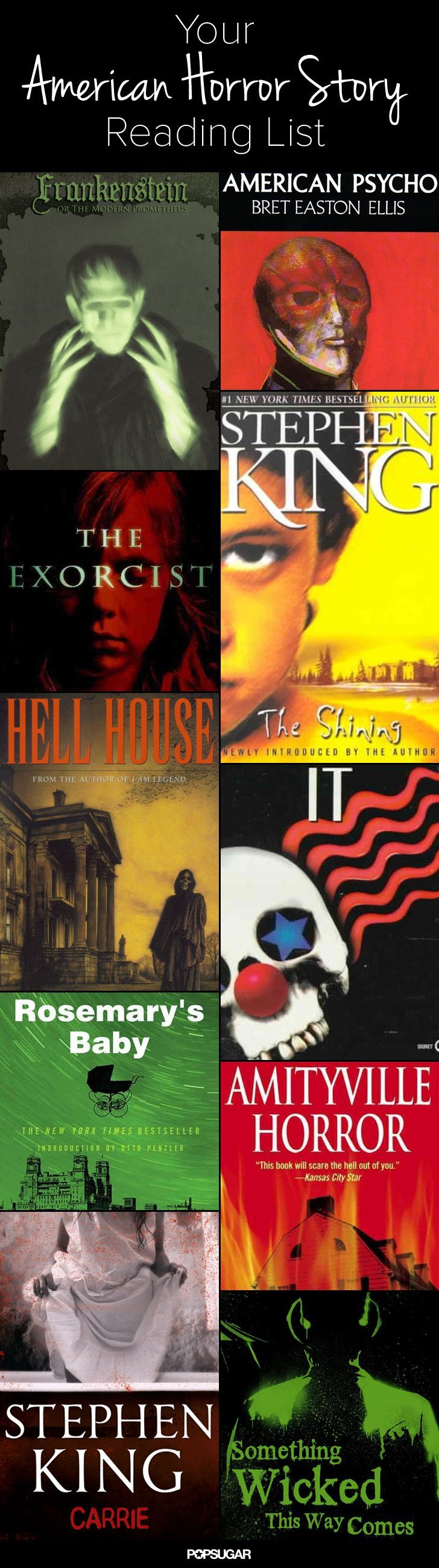 Who's reading a scary book from our reading list?