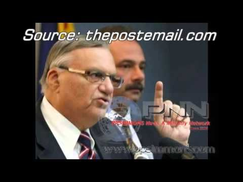 "Arpaio Claim: ""The Government Involved"" in Creating ""Fake Birth Certificate"" for Obama - YouTube"