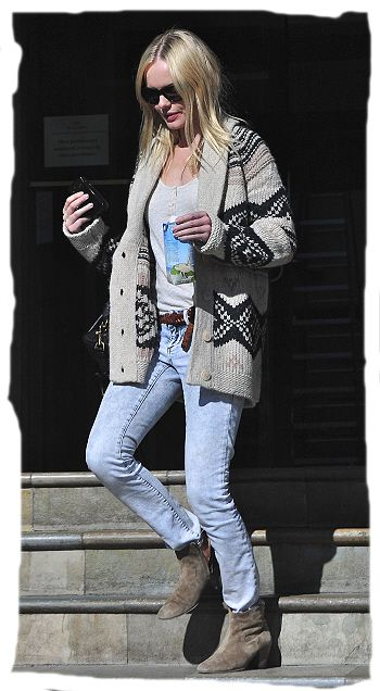 Kate Bostworth + Isabel Marant Dicker Boots
