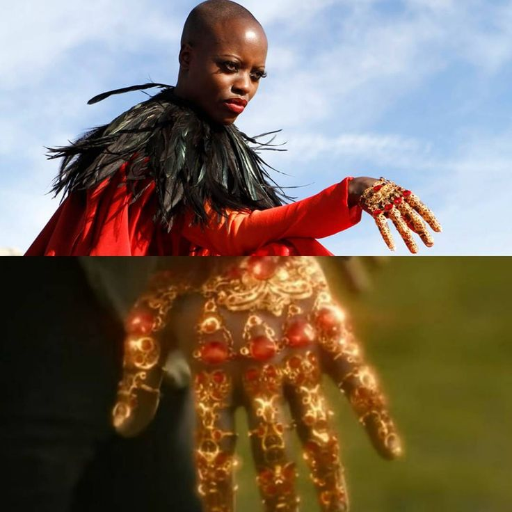 Florence kasumba plays character as witch of East in wonderful tv serie emerald City @nbcemeraldcity ... we dont know who made but this magic Gold claw/gloves are very stunning as other jewelries in serie..highly recommend  #oz#emerald#emeraldcity#florencekasumba#dergi#emeralds#goldglove#altıneldiven#goldgloves#ruby#rubies#jewelrylovers#jewelry#jewellery#gioielli#nbc#dizi#fashionjewelry#claw#goldclaw#goldenclaw#altin#mücevher#taki#takitasarim#fashionjewelry
