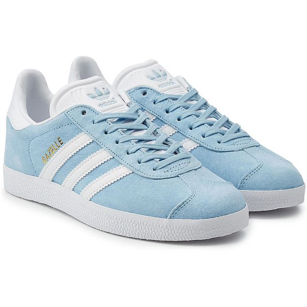 Adidas Originals Suede Gazelle Sneakers ($115) ❤ liked on Polyvore featuring shoes, sneakers, multicolor, multi colored shoes, adidas originals, multicolor shoes, colorful sneakers and suede shoes