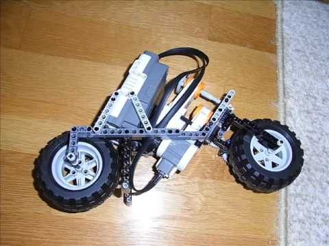 ▶ Lego mindstorms NXT Motorcycle 2 - YouTube -gears