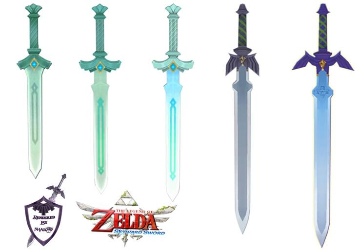 Skyward sword  Swords ...