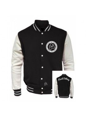 Kandi Clothing Varsity Jacket. Buy @ http://thehubmarketplace.com/VARSITY-%20BADGE