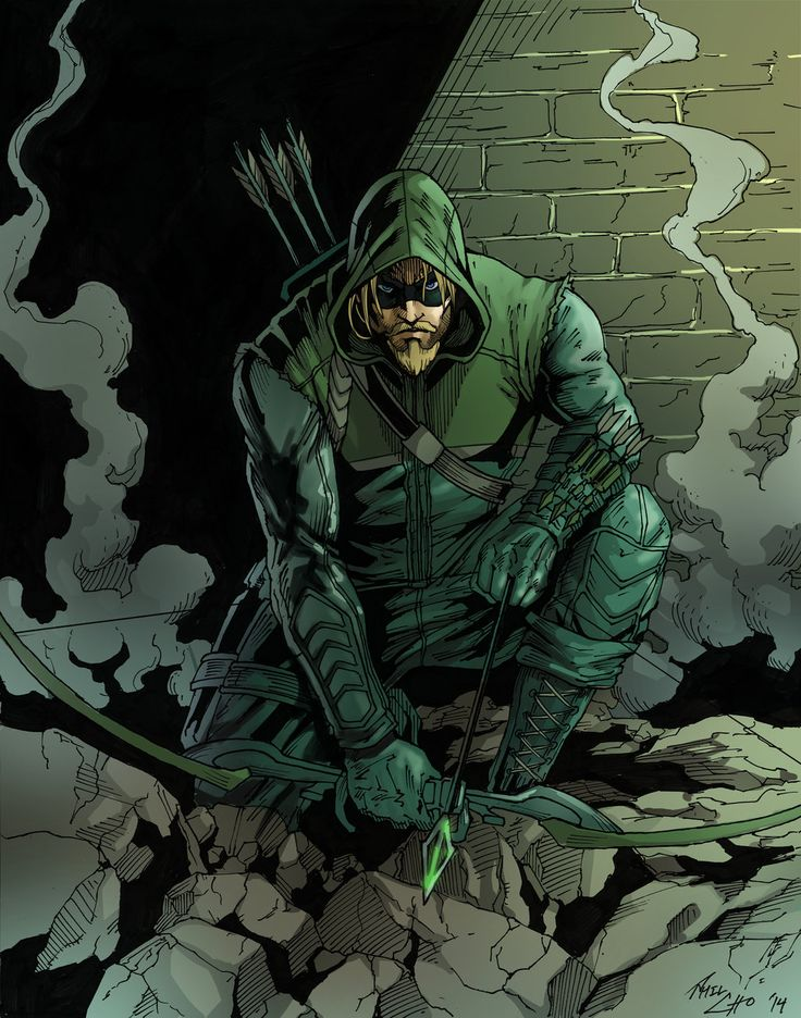 green arrow by phil cho