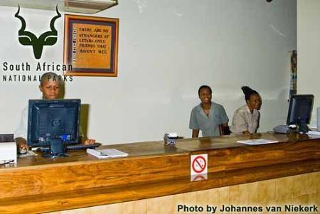 KNP - Letaba - Reception