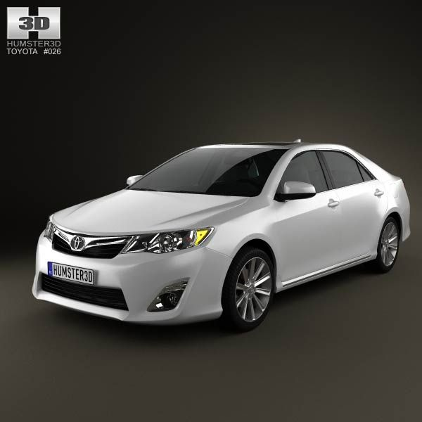 Toyota Camry 2012 US Version 3d model from humster3d.com. Price: $75