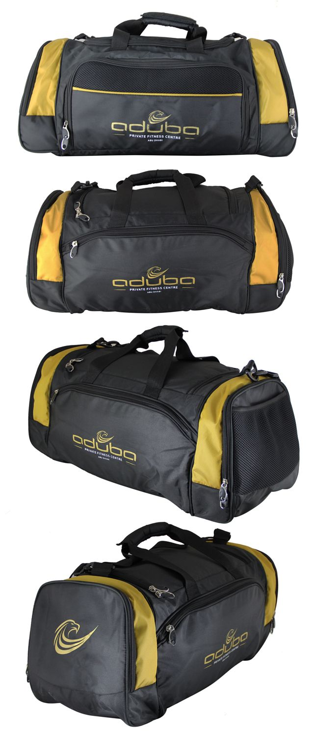 Sports Bag exclusively manufactured for Aduba by Crea - India's smartest brand merchandising company.